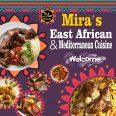 Mira's East African Mediterranean Cuisine Welcome
