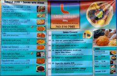 Little Ethiopia Eatery Menu