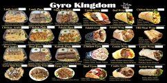 Gyro Kingdom Menu