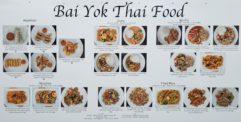 Bai Yok Thai Food Menu