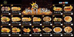 King of Steaks - Menu