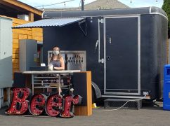 Scout Beer Cart